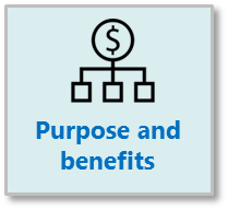 Purpose and benefits